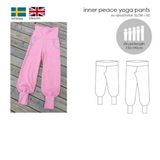 Framsidan för mönstret Inner Peace Yoga Pants