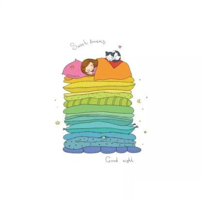 Vinyltryck sweet dreams 15x11