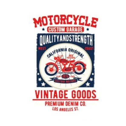 Vinyltryck motorcycle custom garage 18x26
