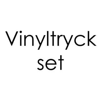 Vinyltryck set