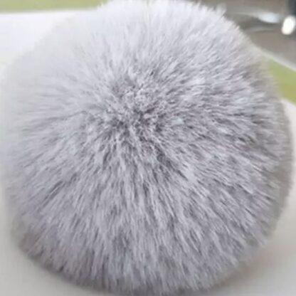 pälsboll grå