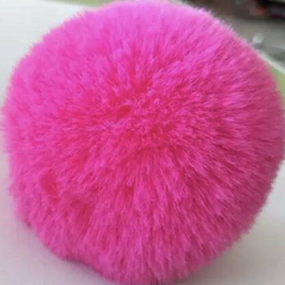 pälsboll rosa
