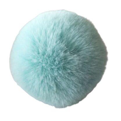 pompom pälsboll mint, polyester