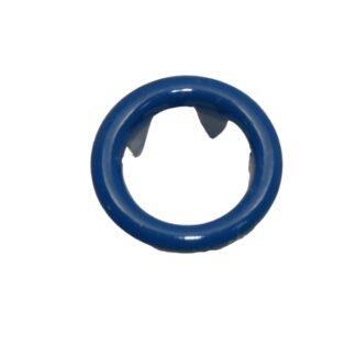 9.5 mm tryckknappar blå