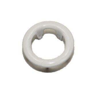 9.5 mm tryckknappar vit