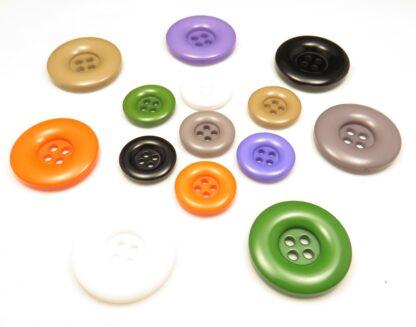 tjocka 4-håls knappar färger 2