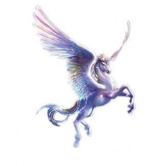 Vinyltryck unicorn vingar 17x23