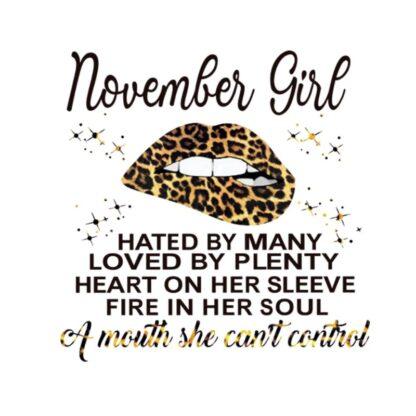 vinyltryck L November Girl 22x22