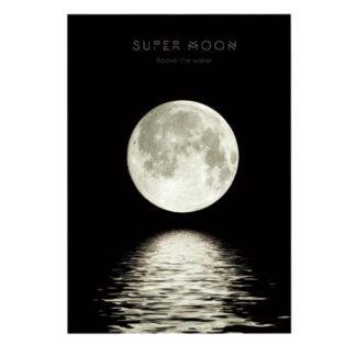 vinyltryck L Super Moon 22x15