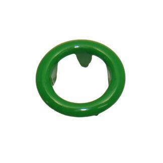 9.5 mm tryckknappar grön