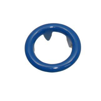 tryckknapp 11 ring blå