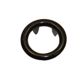 tryckknapp 11 ring svart