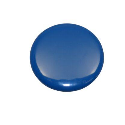 tryckknapp 11 täckt knapp blå